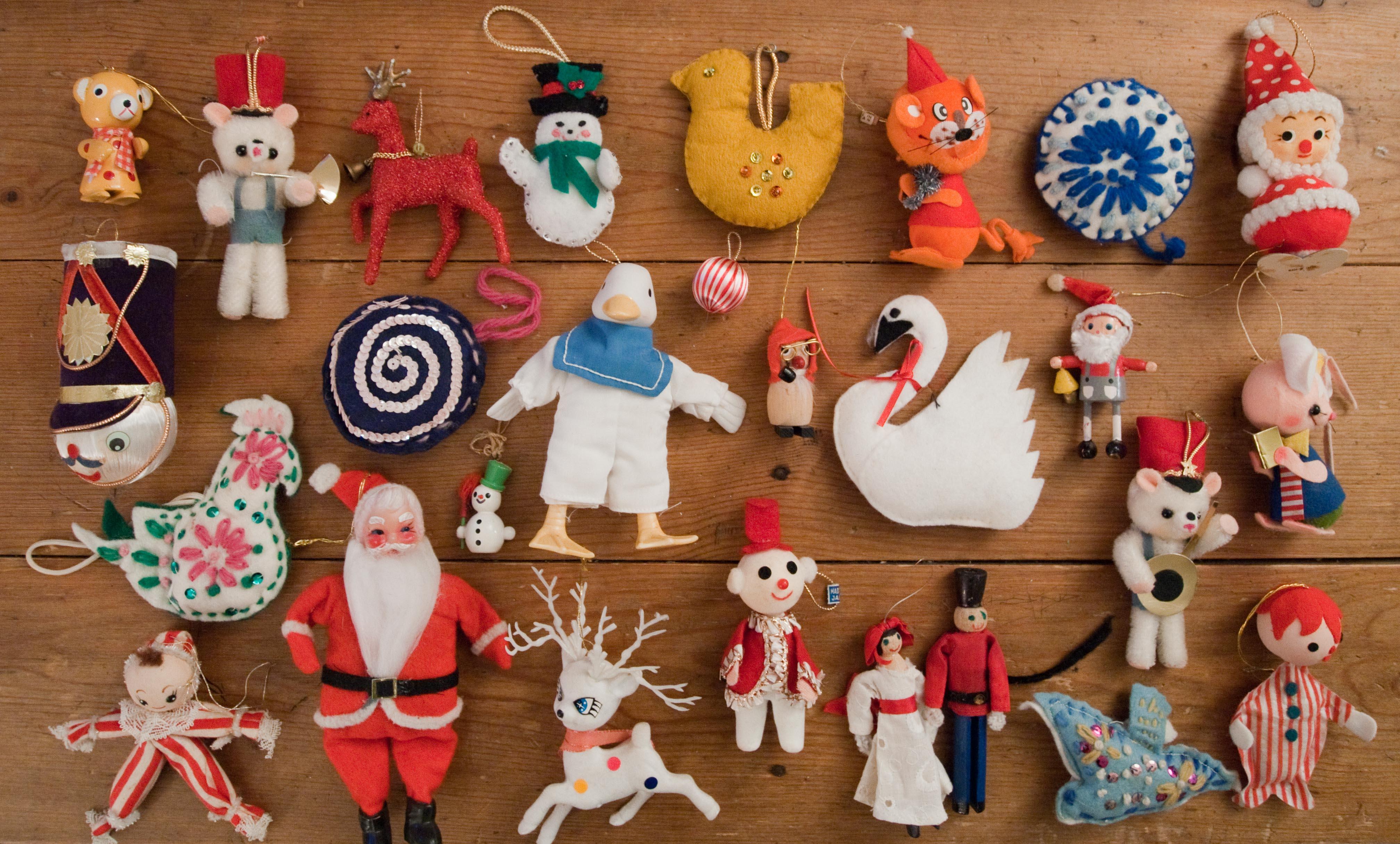 Rescued Ornaments… | The Santa Clones.